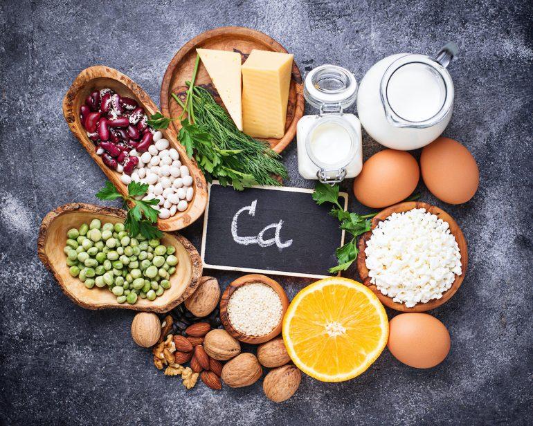 Calcium rich foods, calcium and PMS, calcium and bonehealth, calcium and menopause